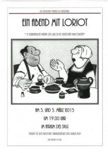 Das Plakat zum Mittelstufen-Theaterstück